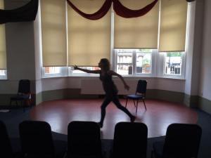 Rehearsing at Clapham Omnibus